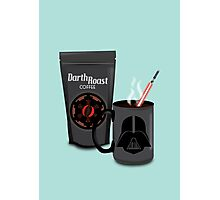 Darth Roast Coffee Photographic Print