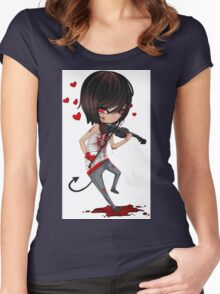 EMO- Musicians Love For Music Women's Fitted Scoop T-Shirt
