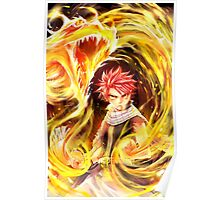 Fairy Tail - Natsu Dragon Slayer Poster