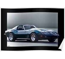 Chevrolet C3 Corvette Stingray Poster