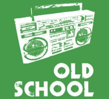Old School - Boom Box One Piece - Short Sleeve