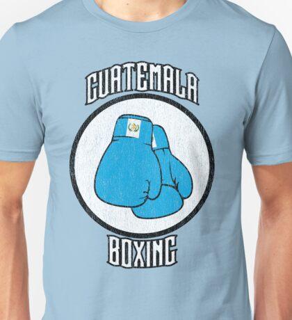 Guatemala Boxing Unisex T-Shirt