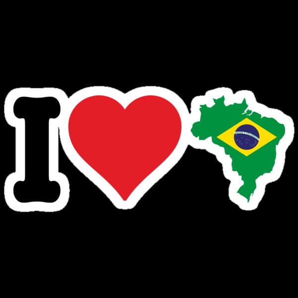 I Heart Brazil by CreativoDesign