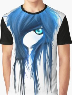 EMO- Blue Eyes White Dragon Graphic T-Shirt