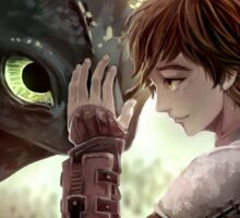 HTTYD - How to Train Your Dragon - Hiccup & Toothless Sticker