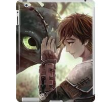 HTTYD - How to Train Your Dragon - Hiccup & Toothless iPad Case/Skin