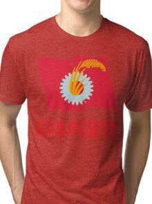 Japanese Communist Party Tri-blend T-Shirt
