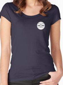 Robron Est. 2014 (tiny corner design) - TEES & HOODIES Women's Fitted Scoop T-Shirt