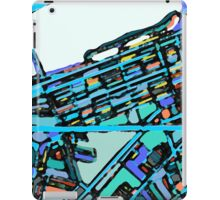 Abstract Map of Boston Back Bay iPad Case/Skin