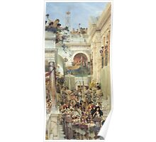 Spring by Lawrence Alma-Tadema Poster
