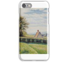 Spring Pasture Camille Pissarro (French (born in the Danish West Indies), iPhone Case/Skin