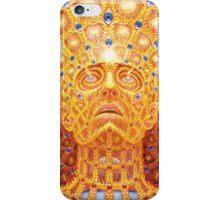 alex grey transfiguration style iPhone Case/Skin