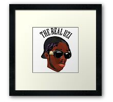 THE REAL UZI Framed Print
