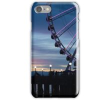 Seattle Waterfront at sunset iPhone Case/Skin