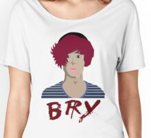 Bry - Portrait Women's Relaxed Fit T-Shirt