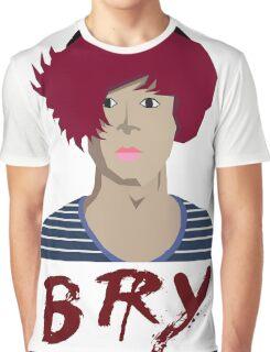 Bry - Portrait Graphic T-Shirt