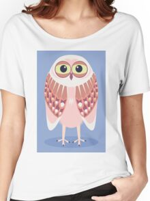 OWL SCOWL  Women's Relaxed Fit T-Shirt
