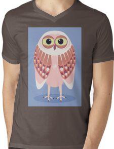 OWL SCOWL  Mens V-Neck T-Shirt