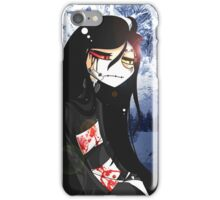 EMO- Beautiful Mute Person iPhone Case/Skin