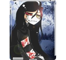 EMO- Beautiful Mute Person iPad Case/Skin