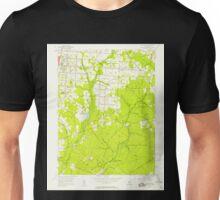 USGS TOPO Map New Jersey NJ Five Points 254370 1956 24000 Unisex T-Shirt