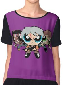 The Walkerpuff Girls Chiffon Top