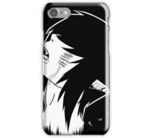 EMO- Pierced Cheeks iPhone Case/Skin