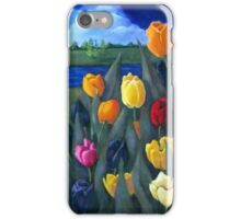 Dutch Tulips, Flowers, Original Floral Painting iPhone Case/Skin