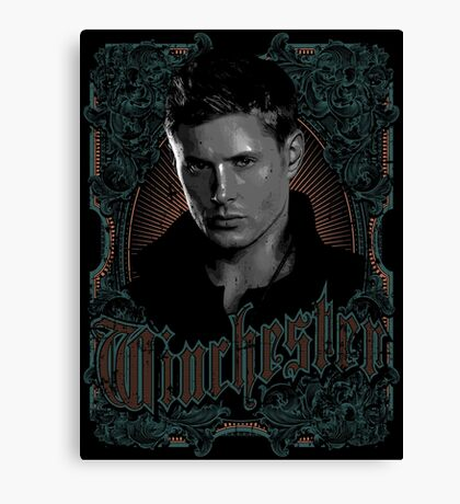 Winchester -  eldest brother Canvas Print
