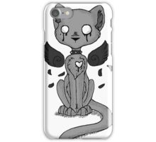 EMO- Gargoyle Cat iPhone Case/Skin