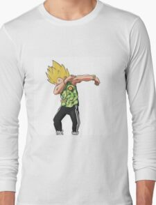 Vegeta is Dabbing Long Sleeve T-Shirt