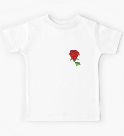 rose flower Kids Tee