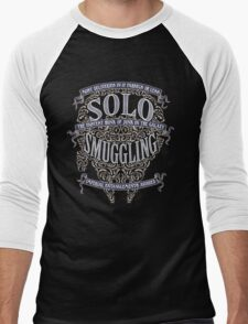 Solo Smuggling - Dark Men's Baseball ¾ T-Shirt