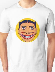 Steeplechase Psychedelic Smiling man Unisex T-Shirt