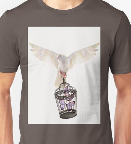 Even doves have pride  Unisex T-Shirt