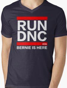RUN DNC - Bernie Sanders parody shirt Mens V-Neck T-Shirt