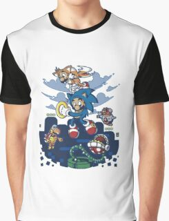 Super Sonic Bros Graphic T-Shirt
