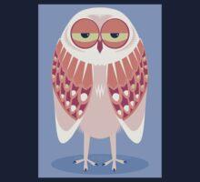 SLEEPY OWL Kids Tee