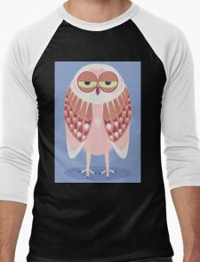 SLEEPY OWL Men's Baseball ¾ T-Shirt
