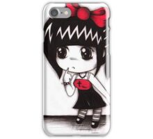 EMO- Little Nurse  iPhone Case/Skin