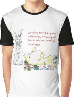 Easter Bunny Eggs Graphic T-Shirt