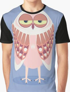 SLEEPY OWL Graphic T-Shirt