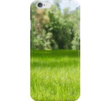 Green Pasture iPhone Case/Skin
