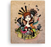 EMO- Music Is Love Canvas Print