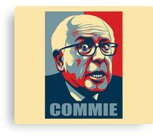 Bernie-Commie Canvas Print