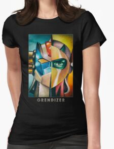 Grendizer Ufo Robot Womens Fitted T-Shirt