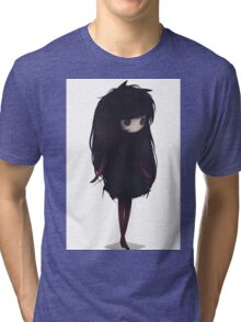 EMO- Korean Fashion Style Tri-blend T-Shirt