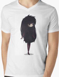 EMO- Korean Fashion Style Mens V-Neck T-Shirt