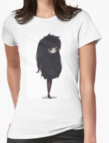EMO- Korean Fashion Style Womens Fitted T-Shirt