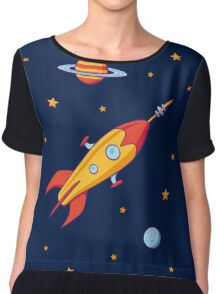 Spaceship! Chiffon Top
